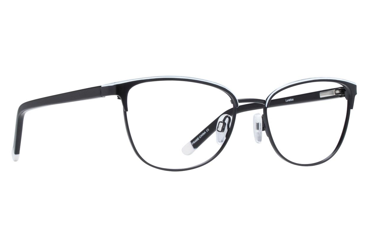 Lunettos Clara Black Eyeglasses