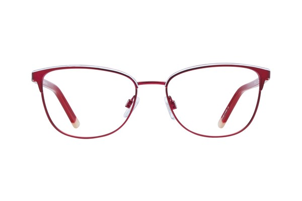 Lunettos Clara Red Eyeglasses
