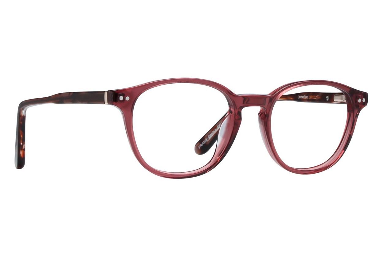 Lunettos Lennon Pink Eyeglasses