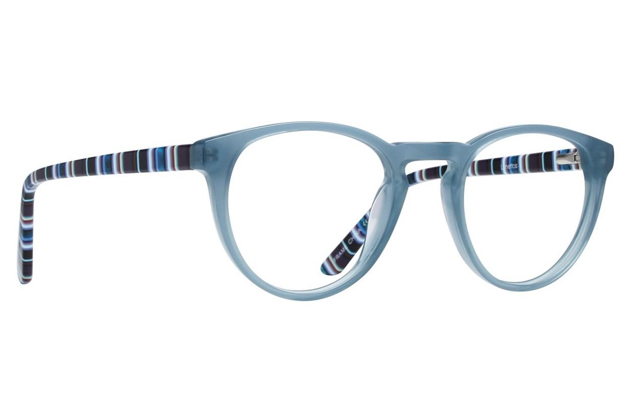Lunettos Elsa Blue Eyeglasses