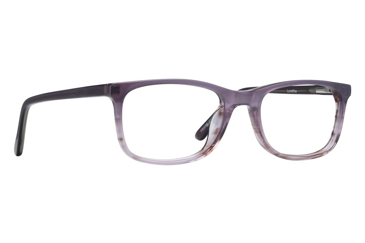 Lunettos Mira Purple Eyeglasses