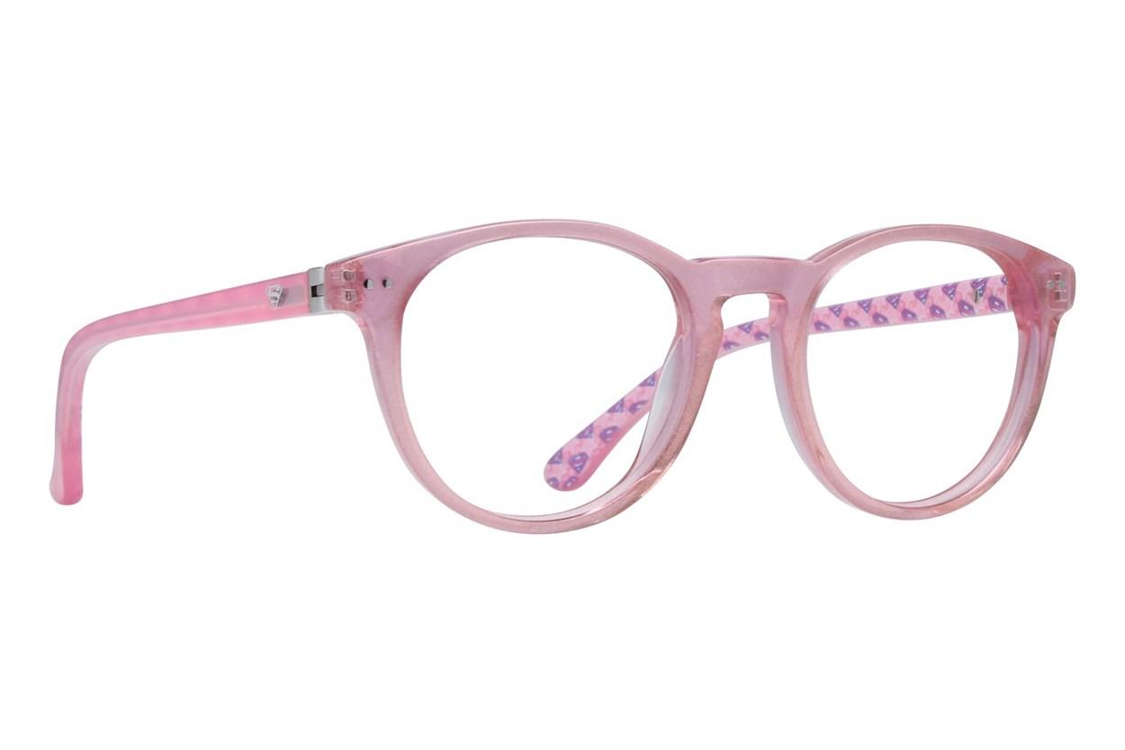 Supergirl SGE4 Pink Eyeglasses