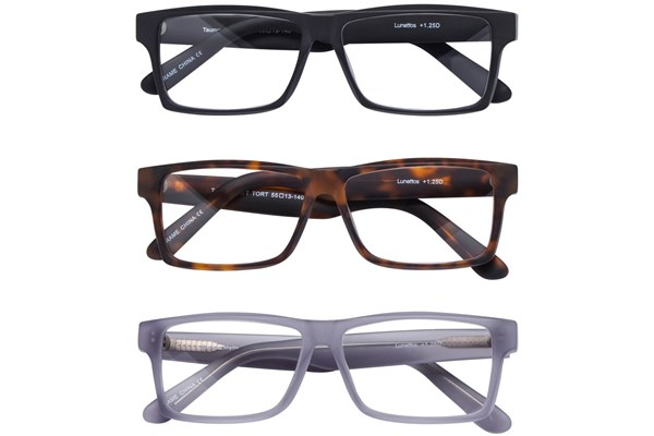 Lunettos Taurus Reading Glasses 3-Pack ReadingGlasses