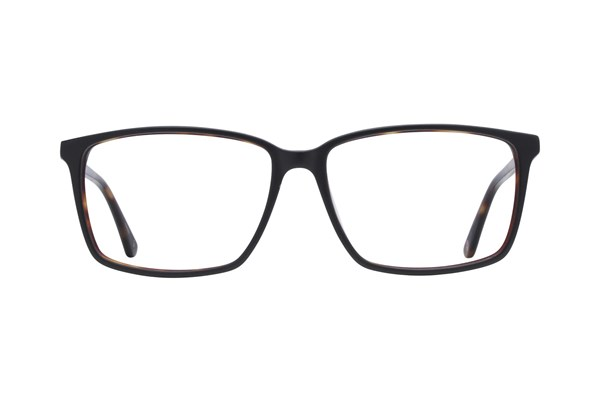 Hackett London Large Fit HEK1201 Eyeglasses - Black