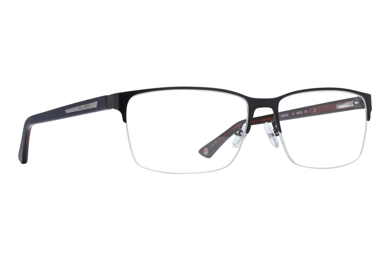 Hackett London Large Fit HEK1203 Black Eyeglasses