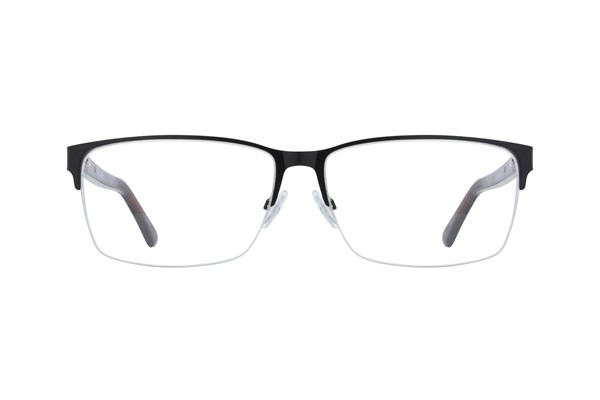 Hackett London Large Fit HEK1203 Eyeglasses - Black