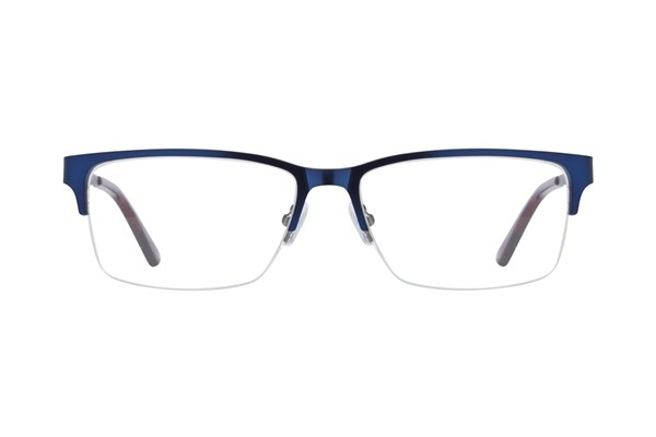 Hackett London Large Fit HEK1212 Eyeglasses - Blue