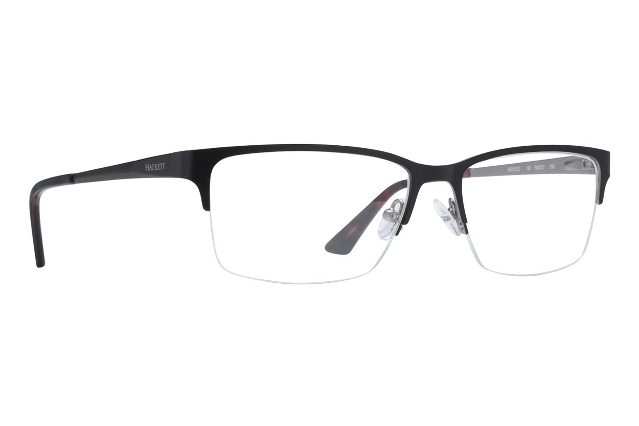 Hackett London Large Fit HEK1212 Eyeglasses - Black