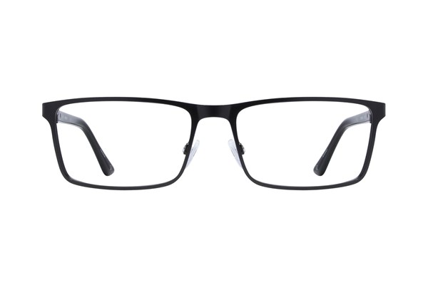 Hackett London Large Fit HEK1213 Eyeglasses - Black