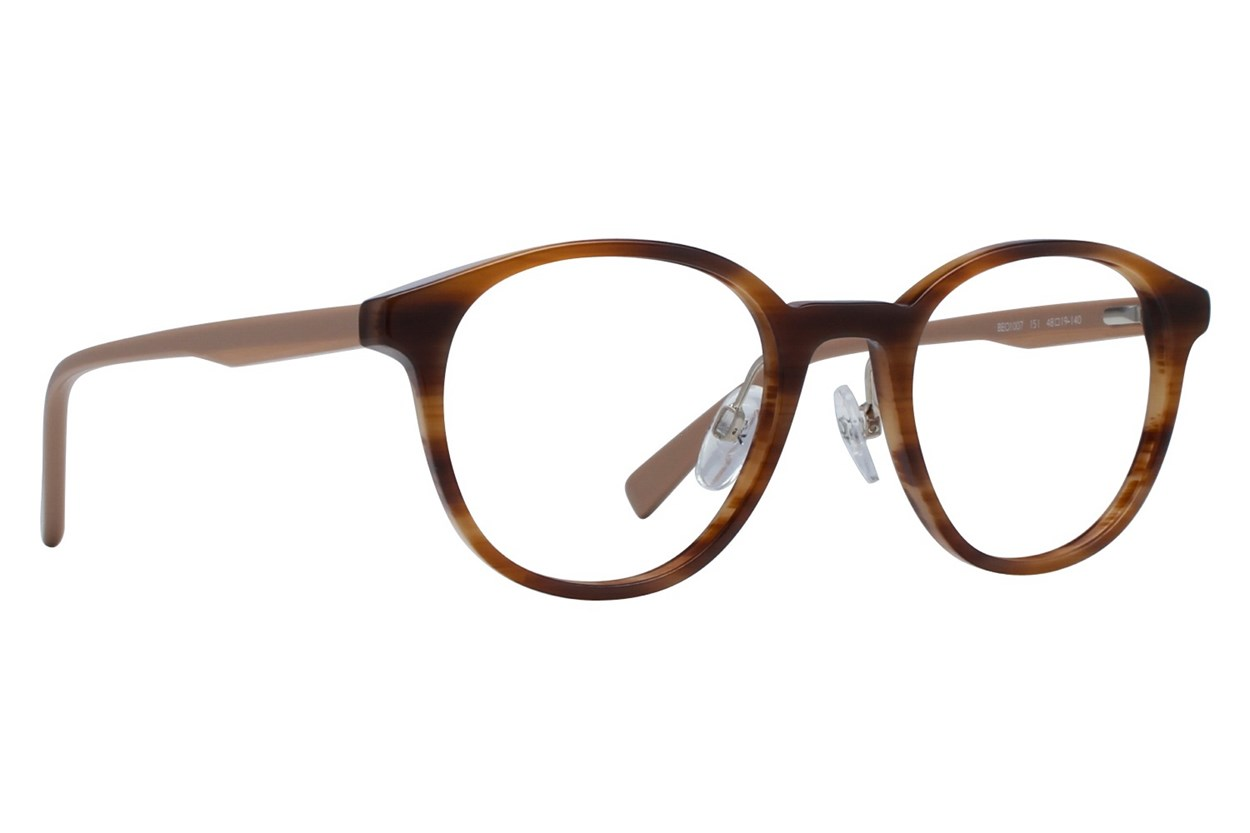 United Colors of Benetton BEO1007 Brown Eyeglasses