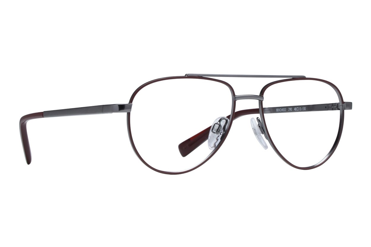 United Colors of Benetton BEKO4002 Red Eyeglasses
