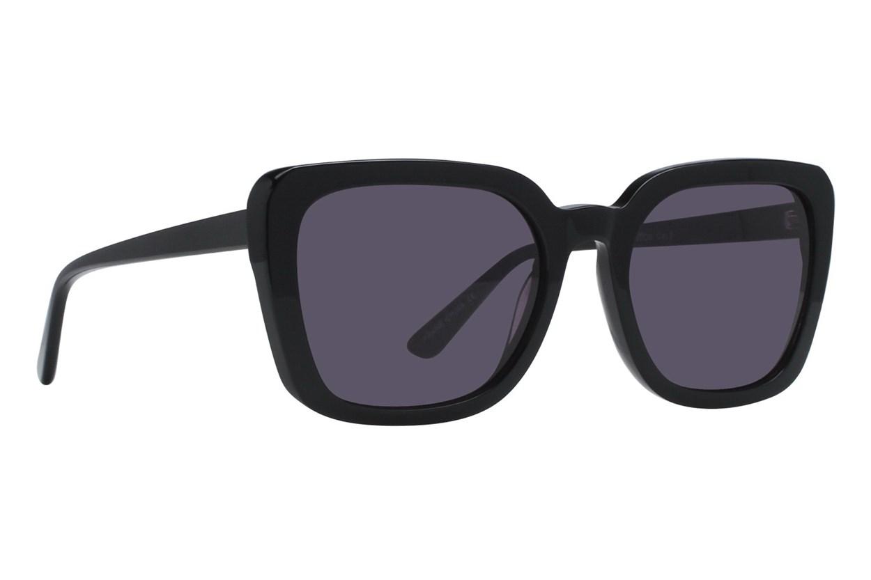 Lunettos Kira Black Sunglasses