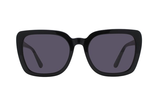 Lunettos Kira Black Sunglasses