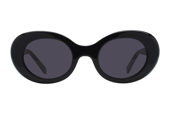 Lunettos Selena Black Sunglasses