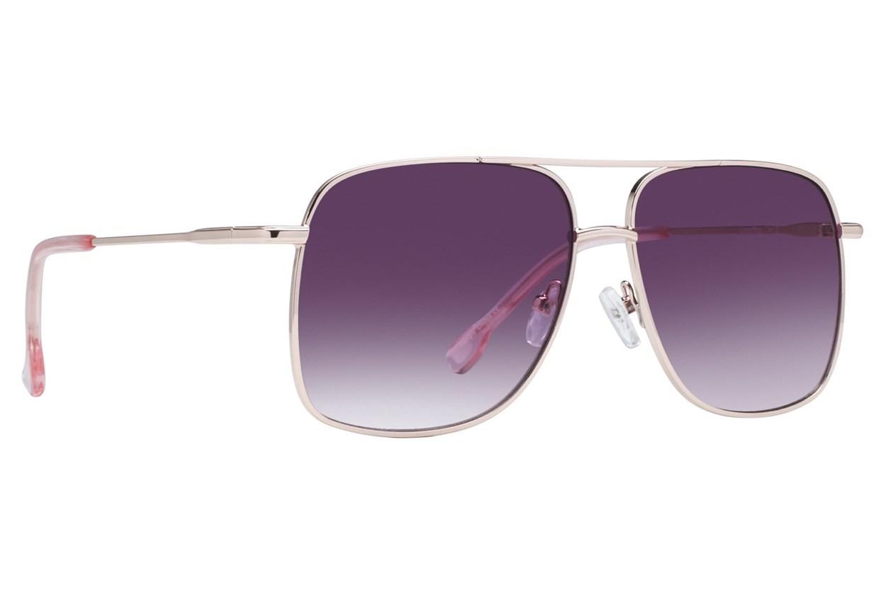 Lunettos Blake Gold Sunglasses