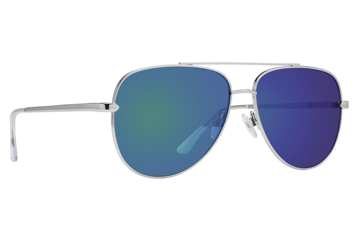 Lunettos Ira Silver Sunglasses