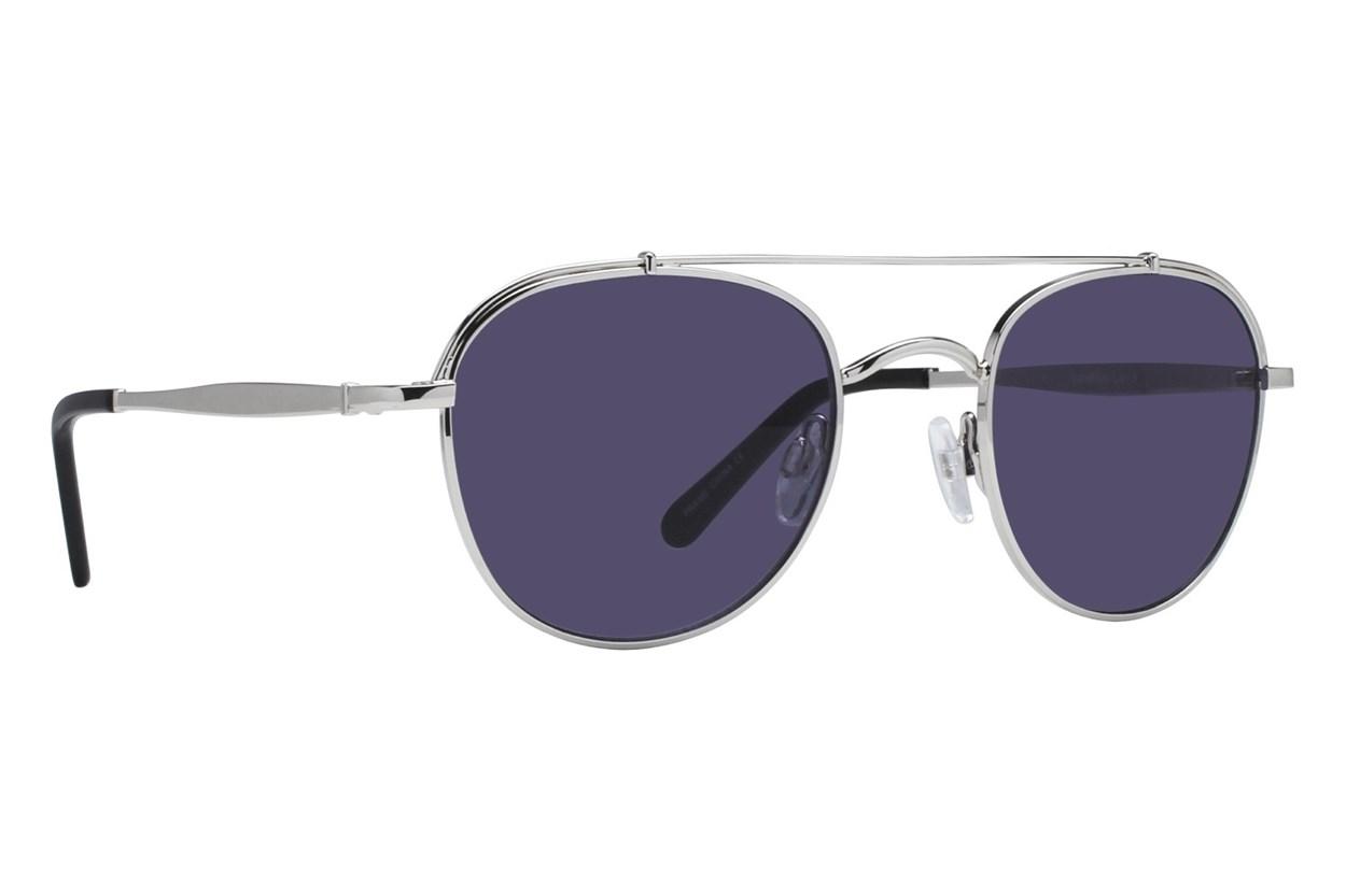 Lunettos Enzo Silver Sunglasses