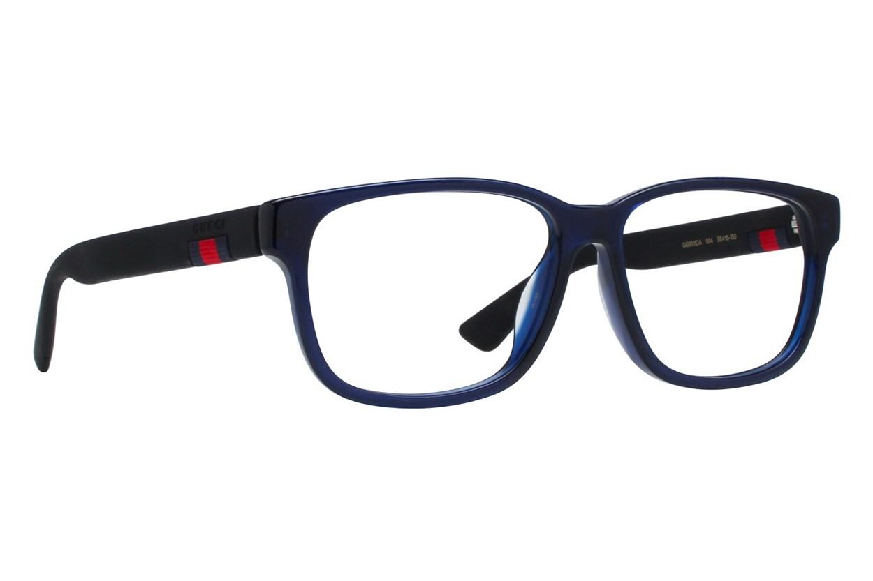 Gucci GG0011OA Blue Eyeglasses