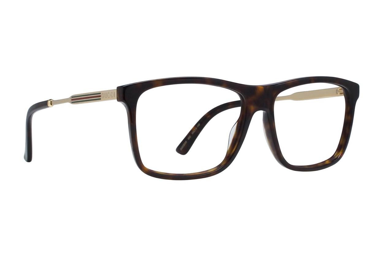 Gucci GG0303O Tortoise Eyeglasses