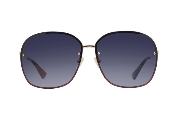 Gucci GG0228S Gold Sunglasses