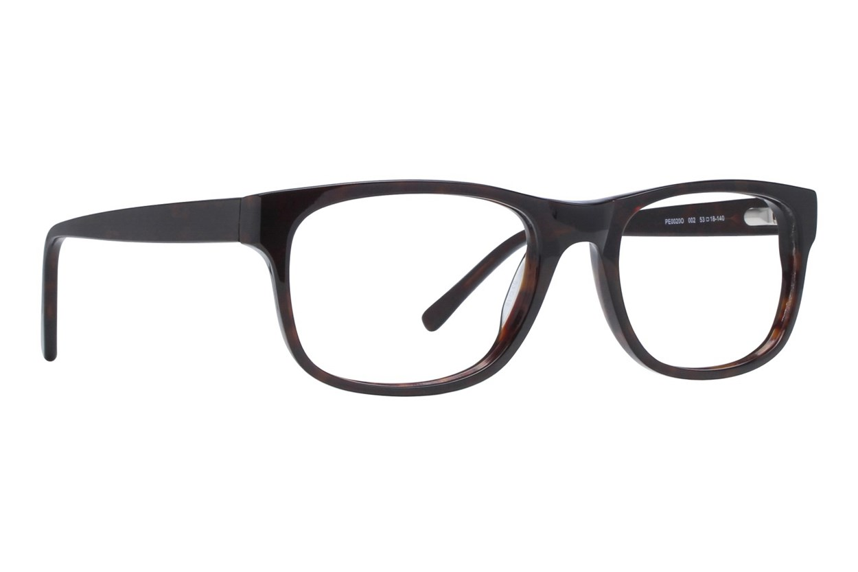Puma PE0020O Brown Eyeglasses