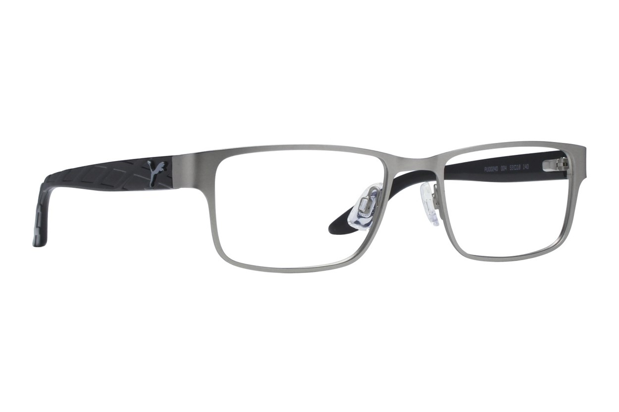Puma PU0024O Silver Eyeglasses