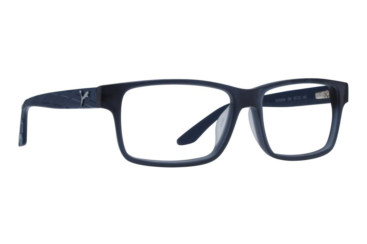 Puma PU0026OA Blue Eyeglasses