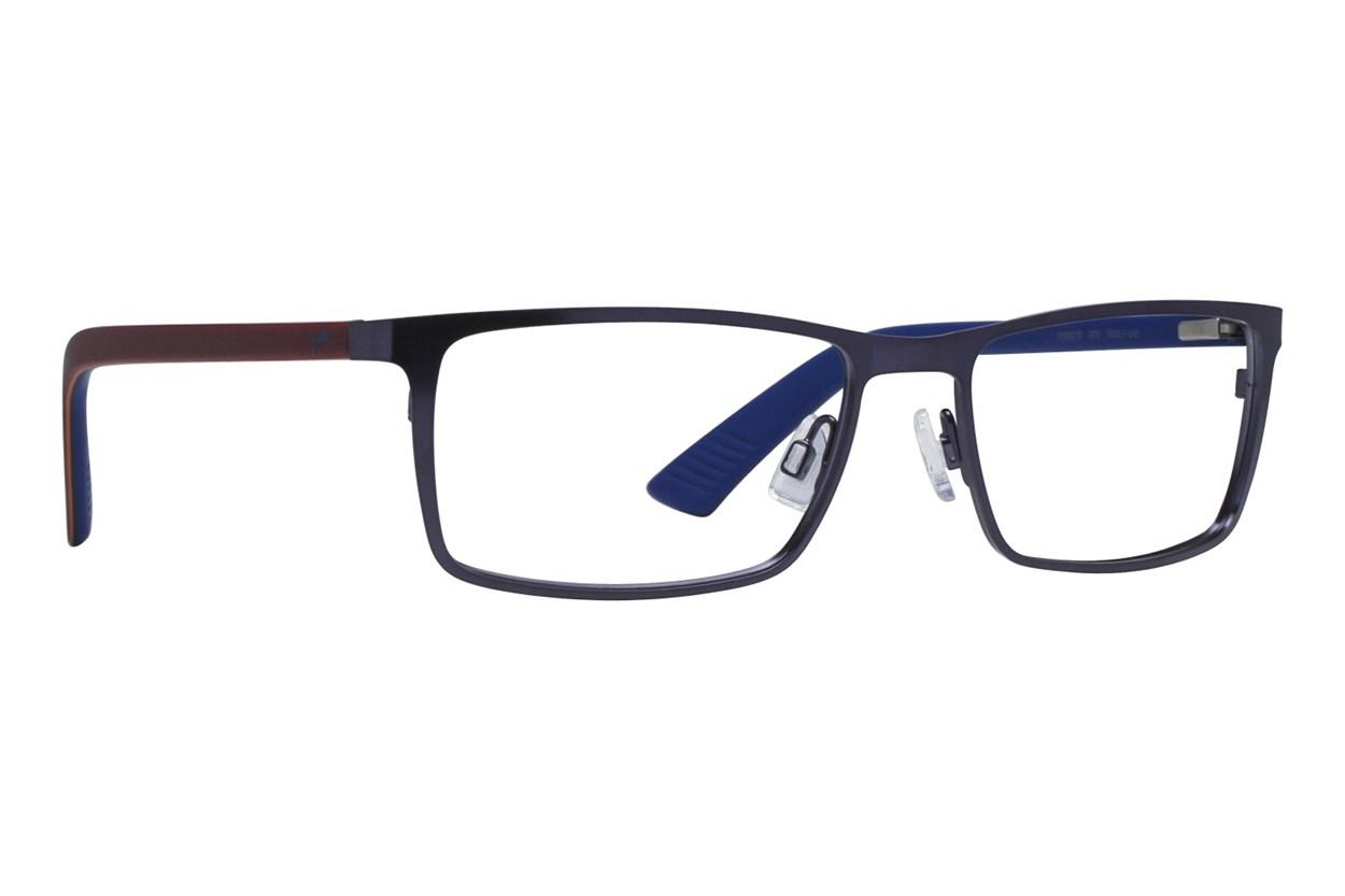 Puma PU0027O Blue Eyeglasses