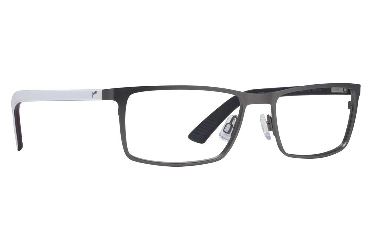 Puma PU0027O Silver Eyeglasses
