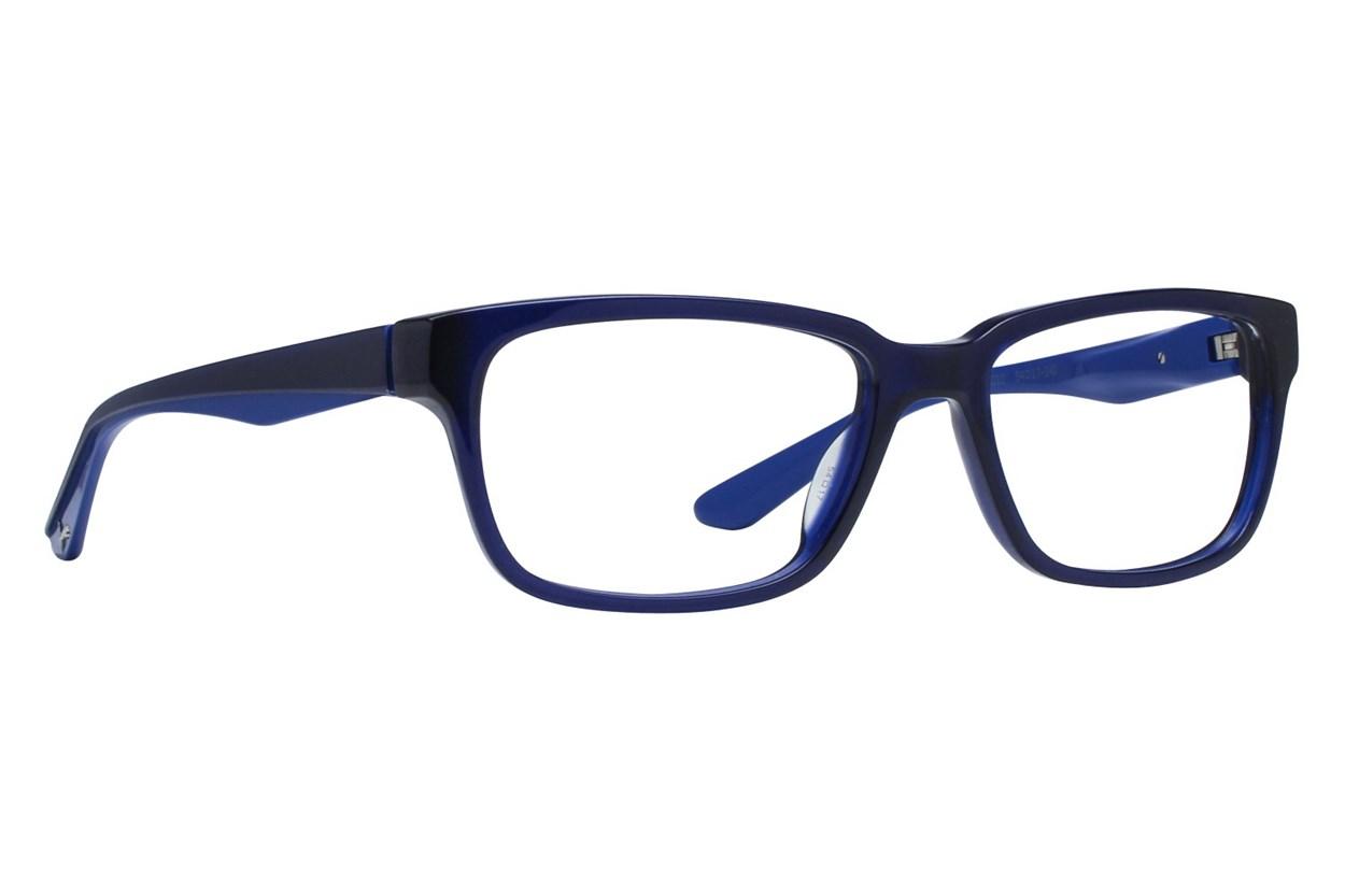 Puma PU0068O Blue Eyeglasses