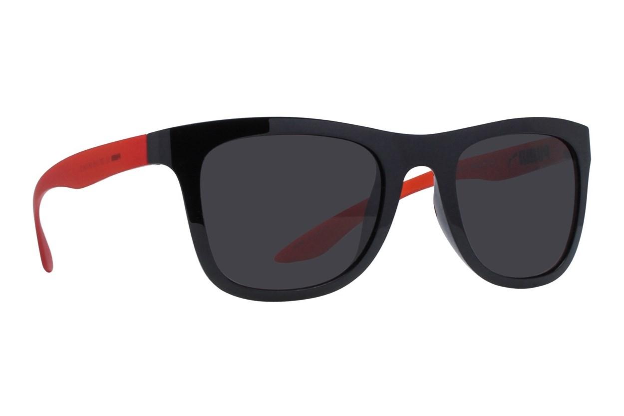 Puma PU0016S Black Sunglasses