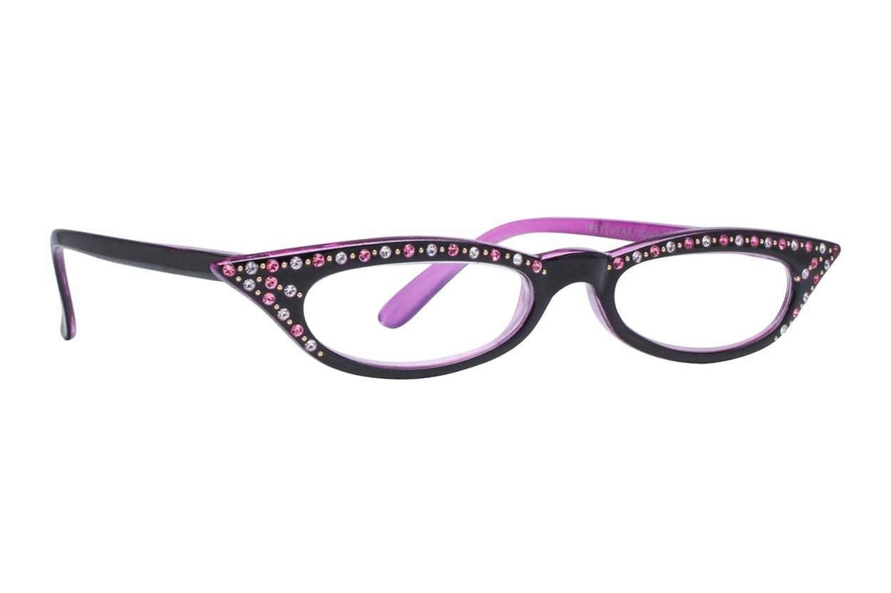 I Heart Eyewear Kitty Pink Black ReadingGlasses