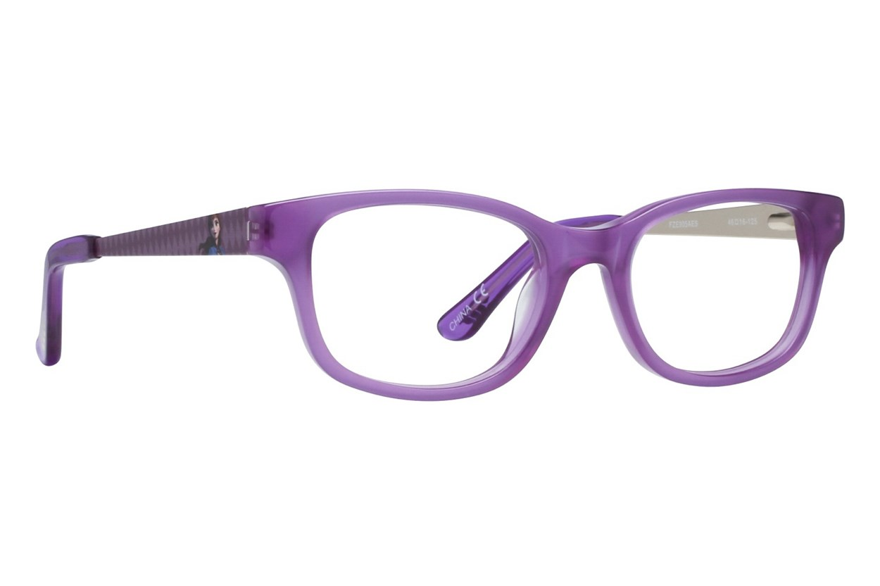 Disney Frozen FZE905 Purple Eyeglasses