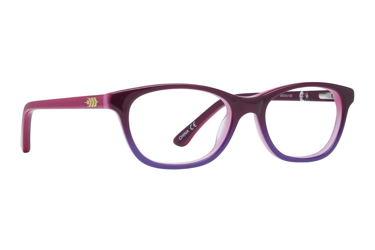 Disney Frozen FZE908 Eyeglasses - Purple
