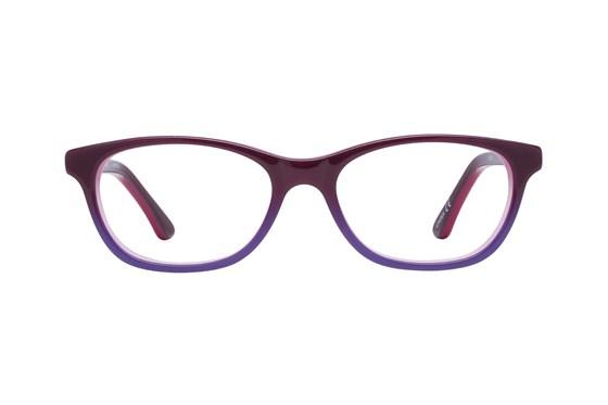 Disney Frozen FZE908 Purple Eyeglasses