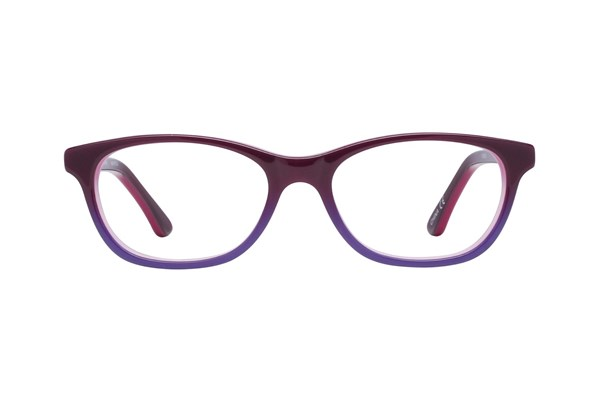 Disney Frozen FZE908 Purple Eyeglasses