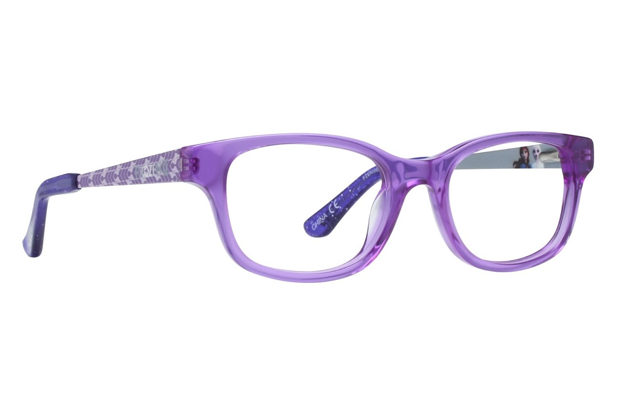 Disney Frozen FZE909 Purple Eyeglasses