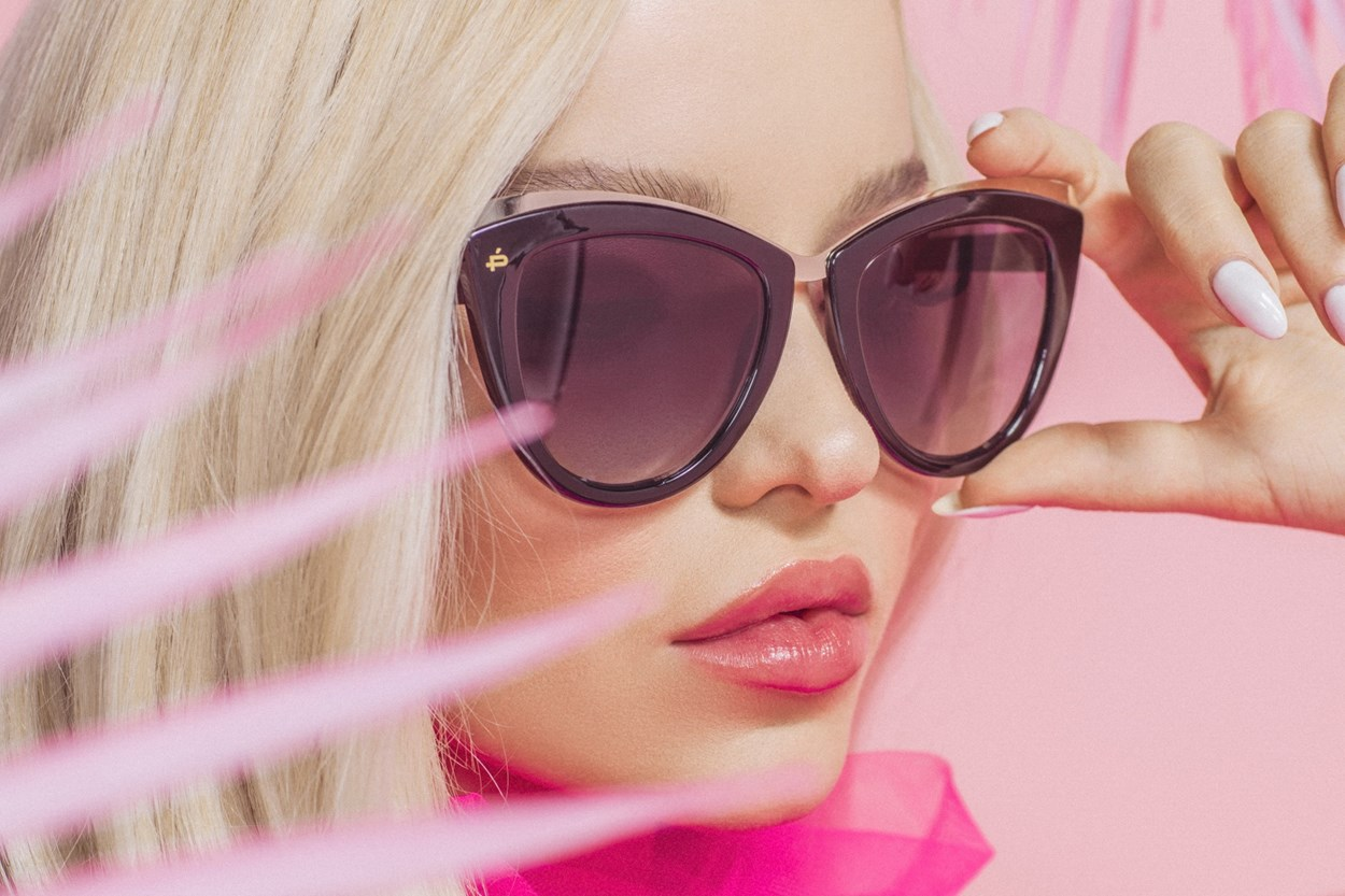 Alternate Image 1 - Prive Revaux Celeste Black Sunglasses