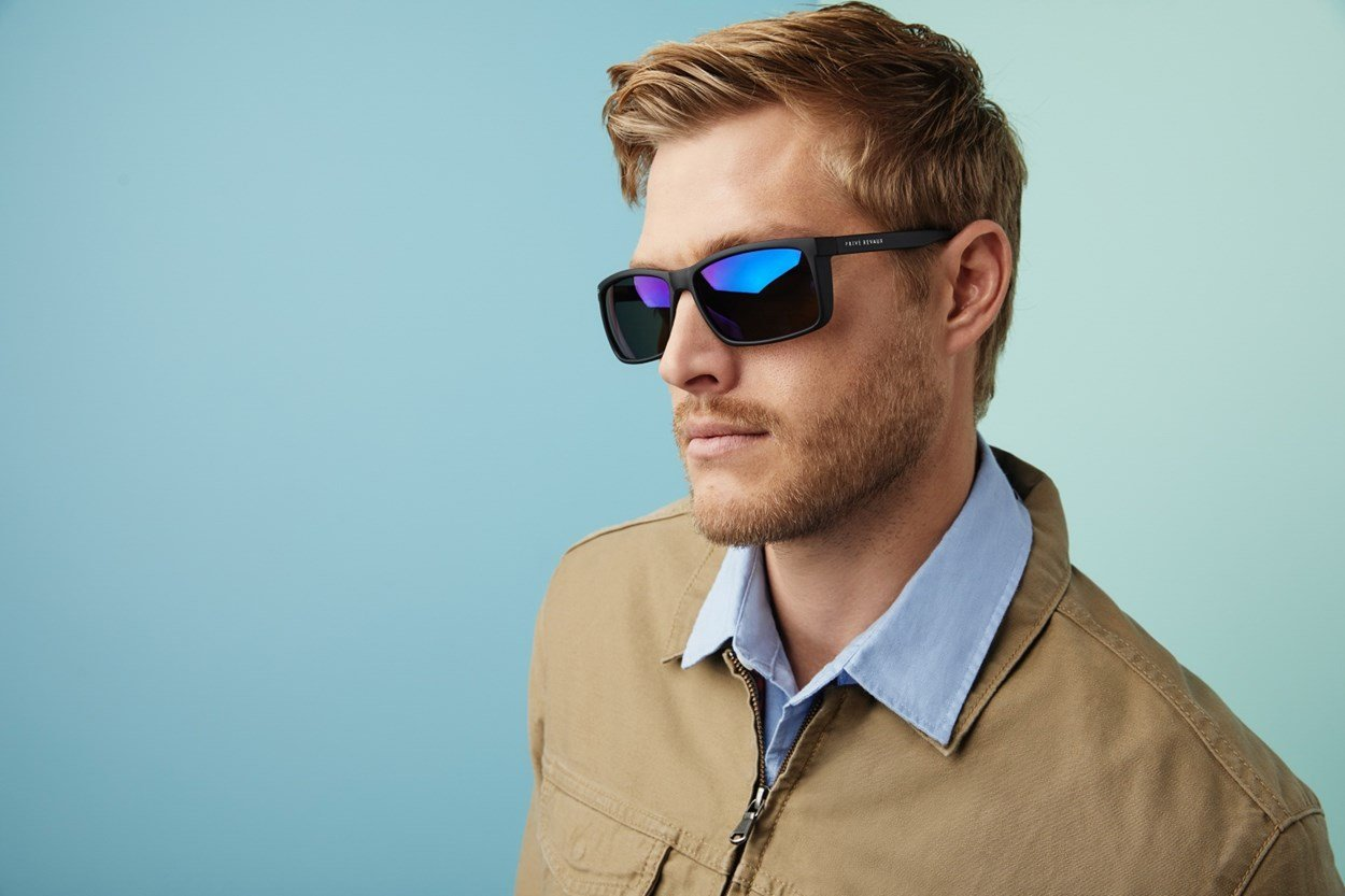 Alternate Image 2 - Prive Revaux Man Made Black Sunglasses