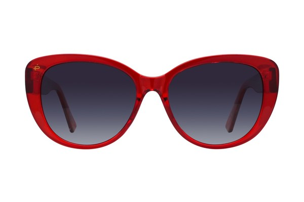 Prive Revaux Over the Moon Red Sunglasses