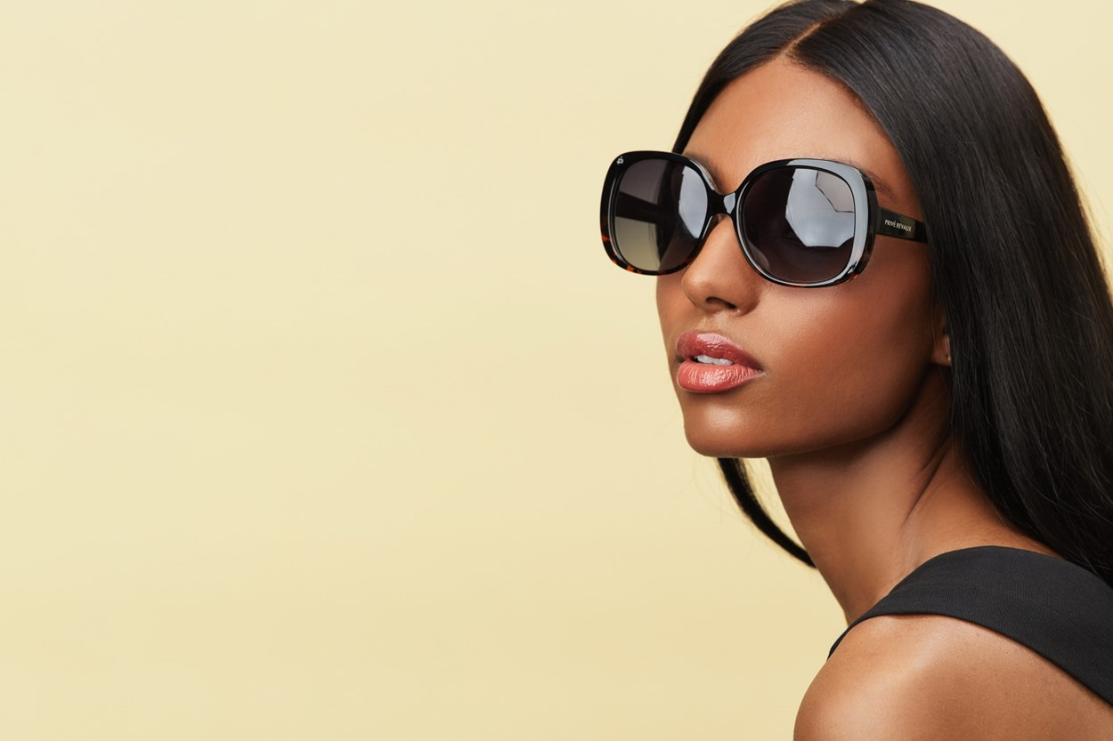 Alternate Image 1 - Prive Revaux Hollywood Heir Green Sunglasses