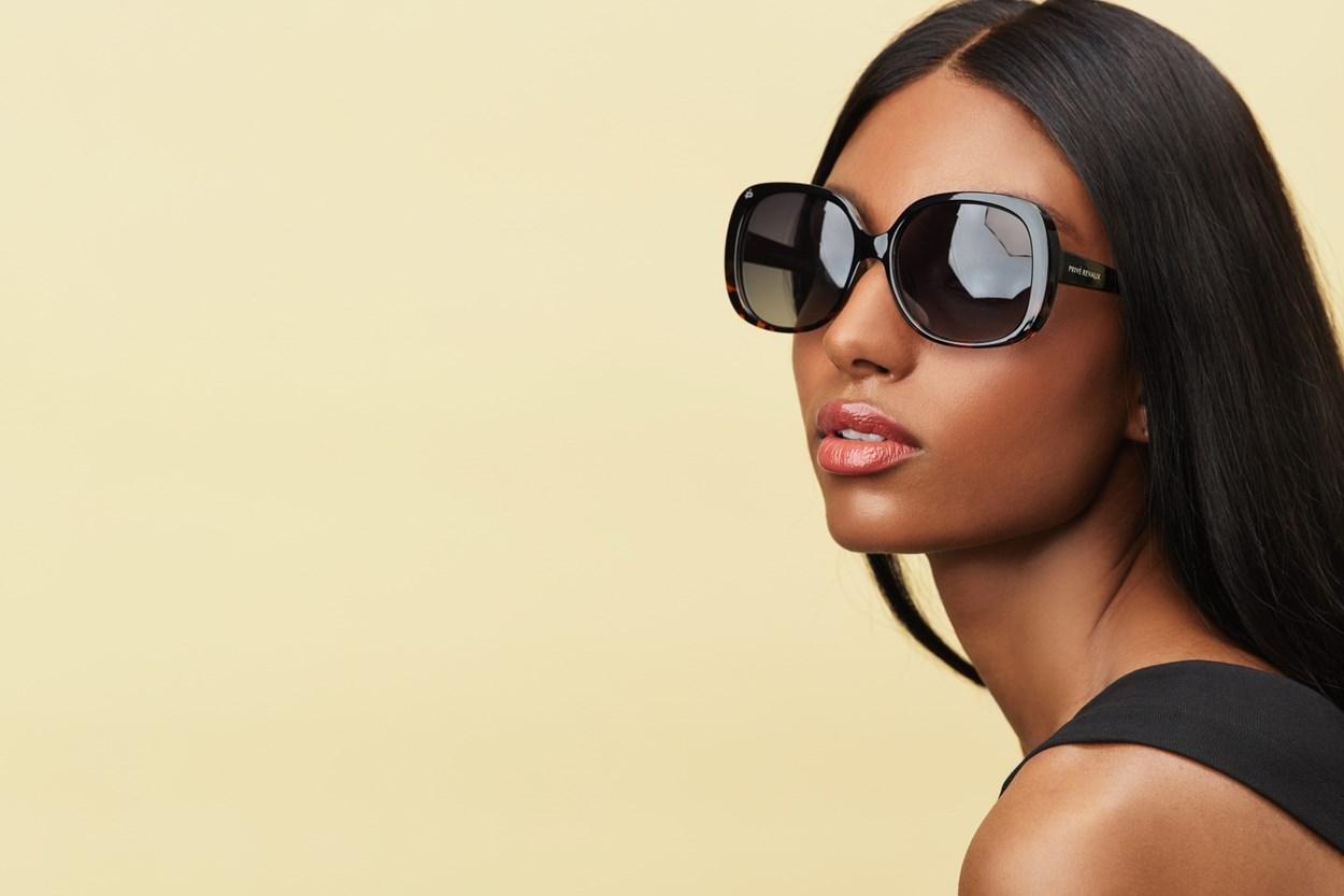 Alternate Image 1 - Prive Revaux Hollywood Heir Black Sunglasses