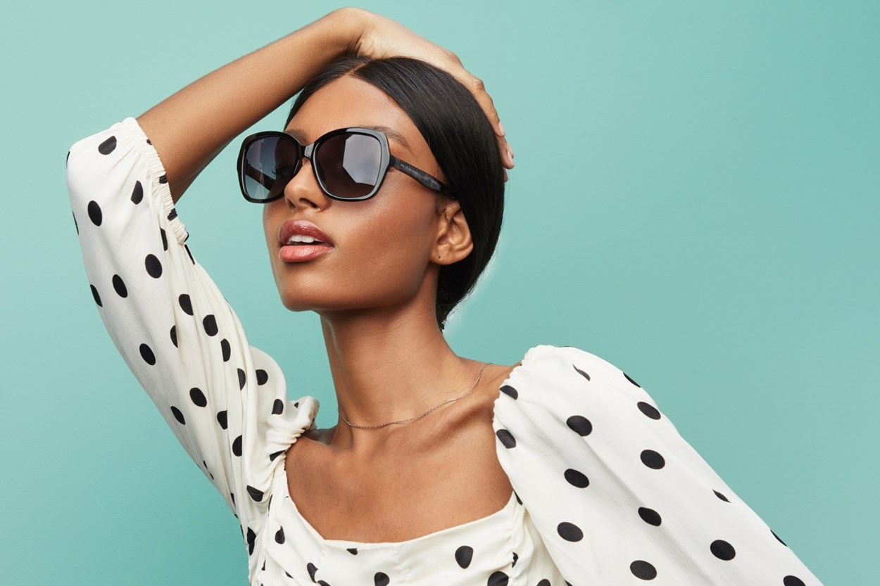 Alternate Image 1 - Prive Revaux To The Gables Black Sunglasses
