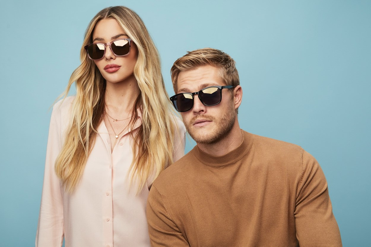 Alternate Image 1 - Prive Revaux The Fearless Reading Sunglasses Pink