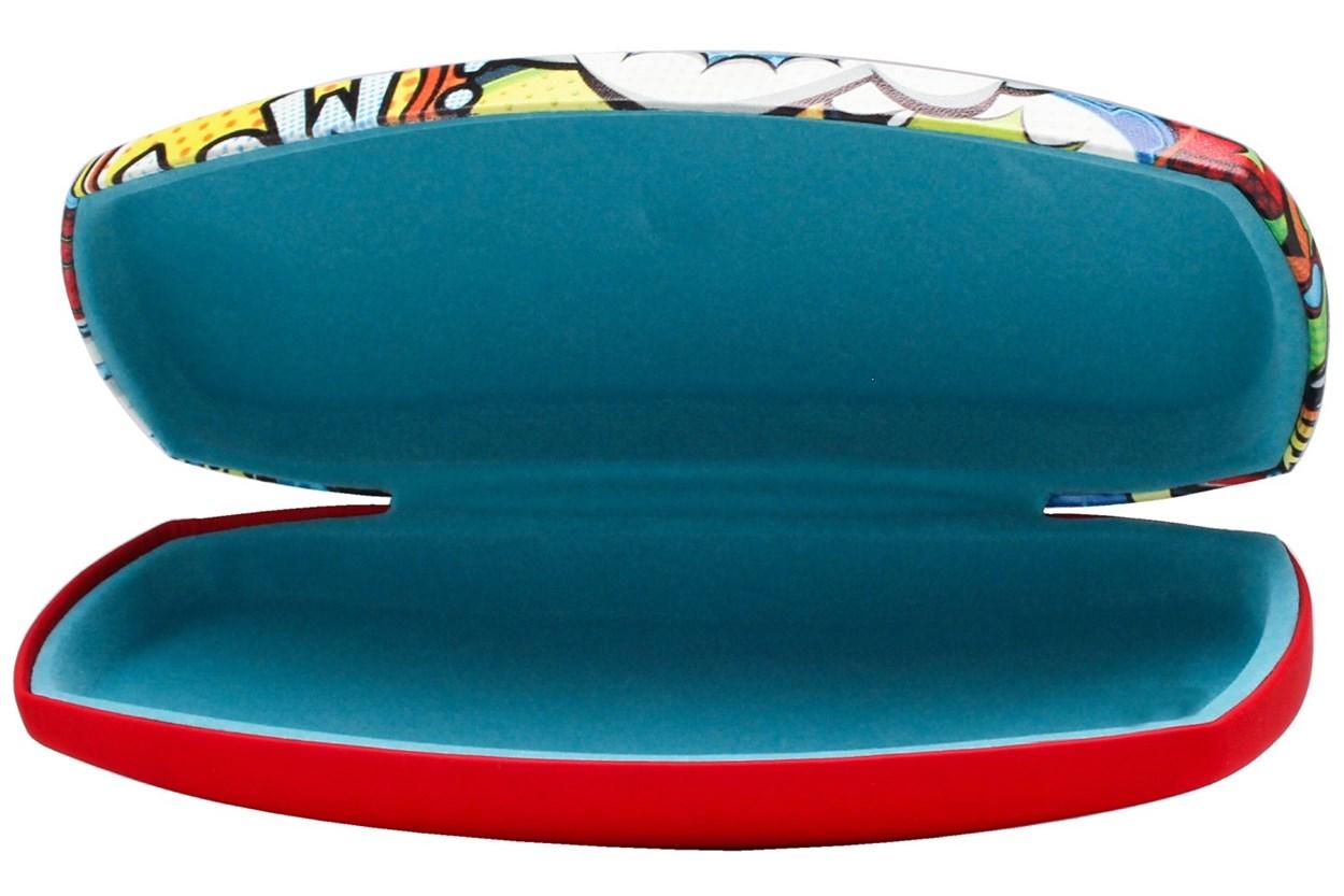 CalOptix Comic Book Eyeglass Case Red GlassesCases