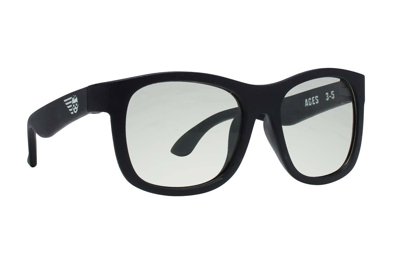 Babiators Blue Light Glasses Black ComputerVisionAides