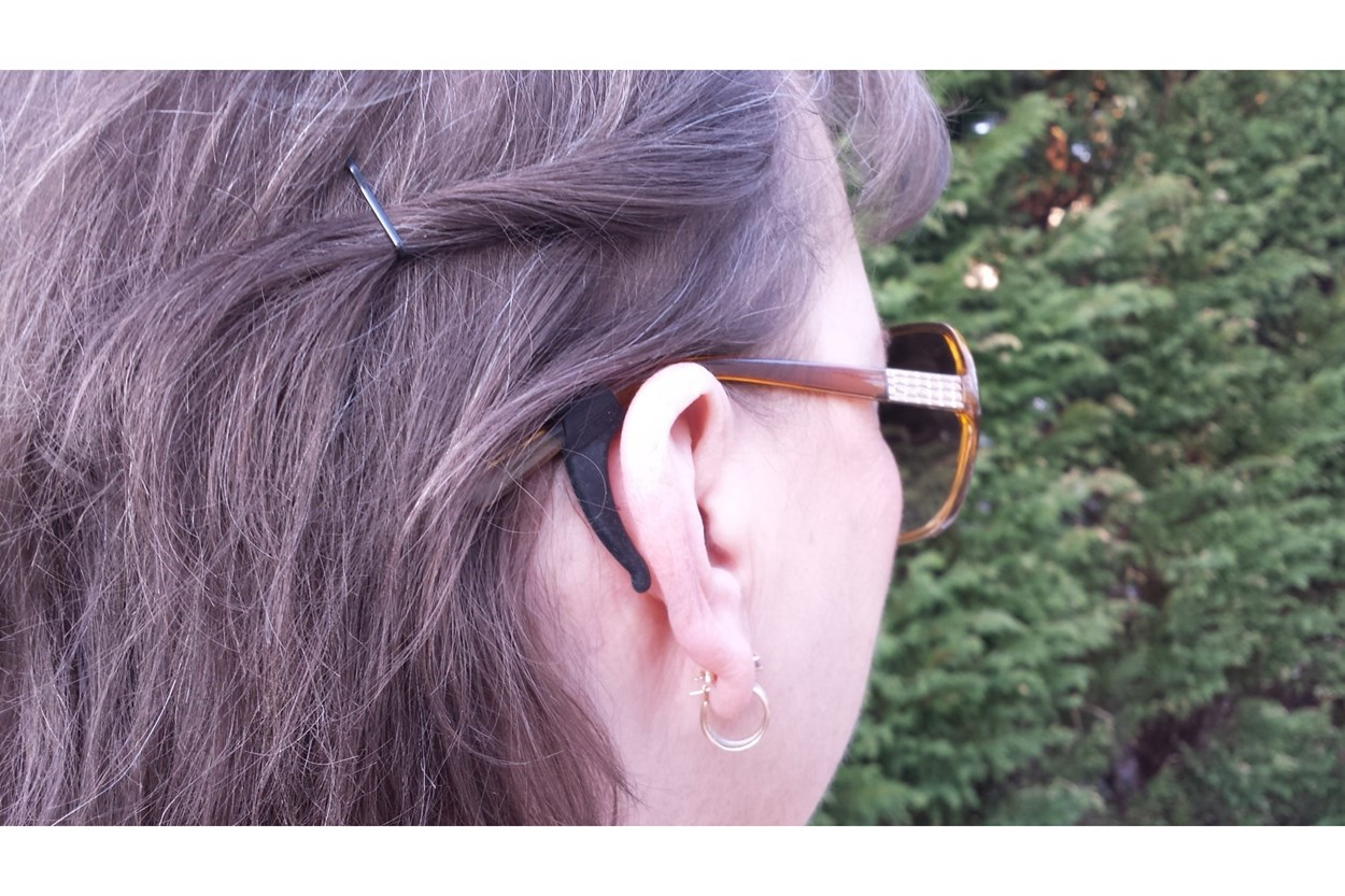 Alternate Image 2 - Stay Puts Removable Ear Lock Black OtherEyecareProducts