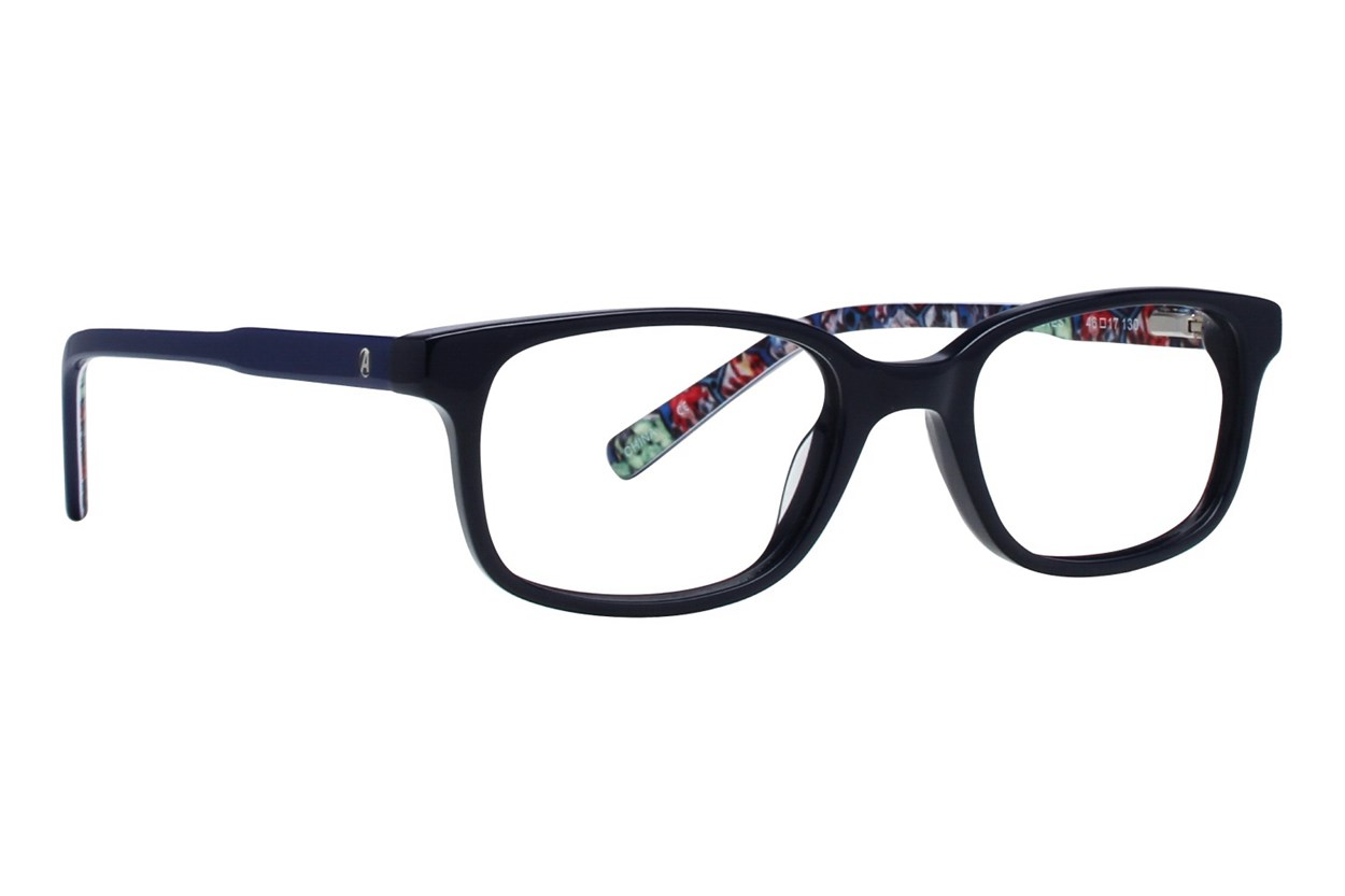 Marvel Captain America AVE901 Black Eyeglasses