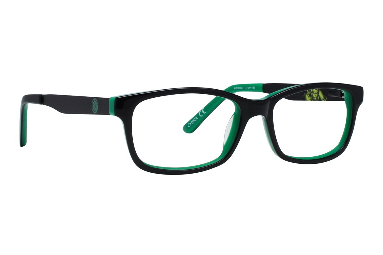 Marvel Hulk AVE905 Black Eyeglasses
