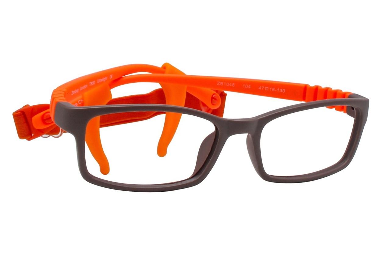 Zoobug ZB1048 Brown Eyeglasses